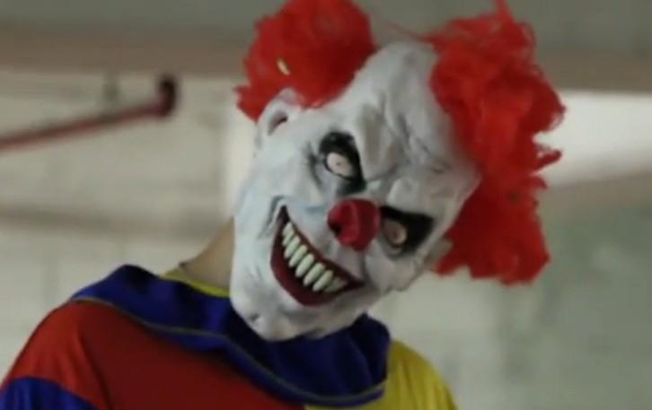 картинки клоуна страшного