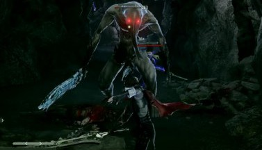Code Vein Boss Fight Gameplay