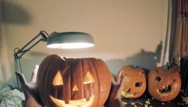 Для кого-то этот Хэллоуин был не слишком веселым (ВИДЕО)