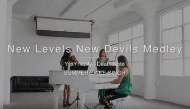 Polyphia. Клип New Levels New Devils Medley (Piano Ensemble)