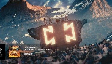 Hammerfall. (We Make) Sweden Rock (Official Lyric Video)