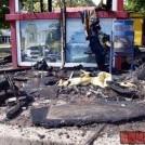 ШОК: в Одессе взрыв уничтожил автобусную остановку (ФОТО!)