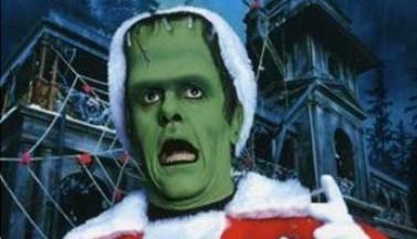 Кошмарное Рождество семейки Мюнстер. Постеры