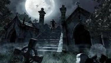 Среди заброшенных могил
