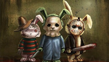 """""""Ужасные"""" кролики"""
